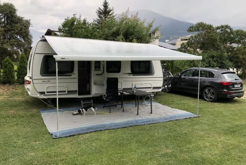 Hire a campervan in Timmendorfer Strand from private owners  Fendt Unser Wohnwagen